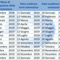 Calendario MEF